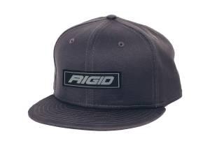 Flat Bill Hat Embossed Gray RIGID Industries RIGID Industries