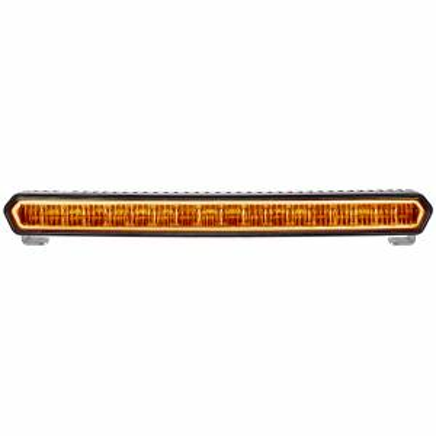 20 Inch LED Light Bar Black W/Amber Halo Off Road SR-L Series Rigid Industries