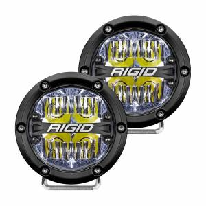360-Series 4 Inch Led  Off-Road  Drive Beam White Backlight Pair RIGID Industries