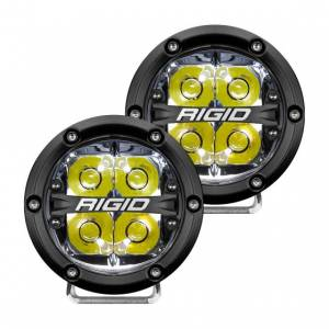 360-Series 4 Inch Led Off-Road Spot Beam White Backlight Pair RIGID Industries