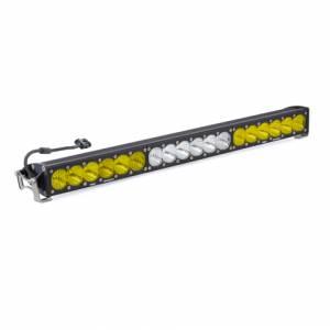 30 Inch LED Light Bar Amber/White Dual Control OnX6 Series Baja Designs