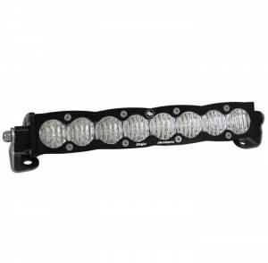 10 Inch LED Light Bar Spot Pattern Amber Lens S8 Series Baja Designs