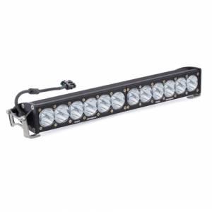 20 Inch LED Light Bar Single Straight High Speed Spot Pattern OnX6 Baja Designs
