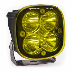LED Light Pod Spot Pattern Clear Amber Black Squadron Sport Baja Designs