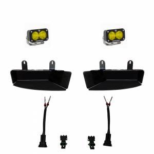 Dodge Ram Light Kit For Ram 2500/3500 19-On FPK S2 Sport W/C Amber Baja Designs