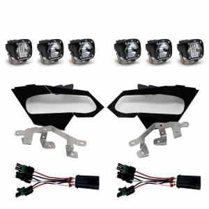 Can-Am X3 Headlight Kit S1 Laser W/C Baja Designs