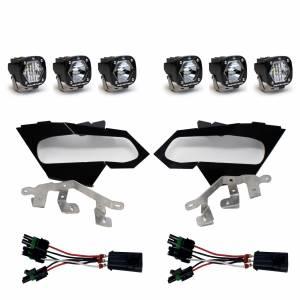 Can-Am X3 Headlight Kit S1 Spot W/C Baja Designs