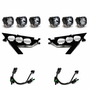 RZR Pro XP Headlight Kit For 20-Pres Polaris RZR Pro XP Baja Designs