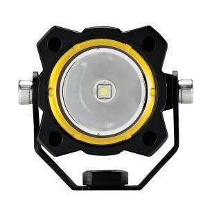 KC HiLiTES - KC HiLiTES KC FLEX Single LED Light (ea) - Spot Beam - KC #1270 1270 - Image 5