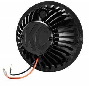 "KC HiLiTES 6"" Gravity LED Insert Pair Pack System - KC #42134 (Spot Beam) 42134"
