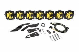 """KC HiLiTES - KC HiLiTES Gravity LED Pro6 17-19 Can-Am Maverick X3 7-Light 45"""" LED Light Bar - #91334 91334 - Image 1"""