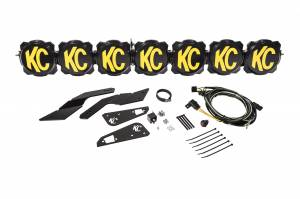 """KC HiLiTES - KC HiLiTES Gravity LED Pro6 17-19 Can-Am Maverick X3 7-Light 45"""" LED Light Bar - #91334 91334 - Image 4"""