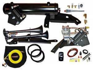 Kleinn Automotive Air Horns Bolt-on Can-Am X3 Heavy Duty Onboard Air System with Model 102-1 Air Horn CANX3-KIT