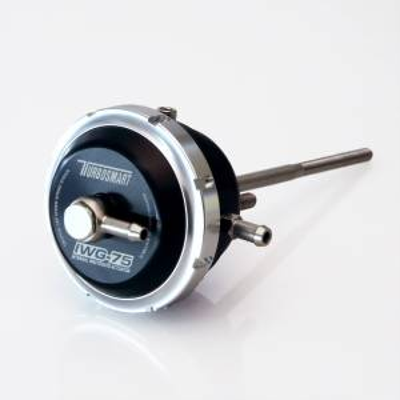 Turbosmart IWG75 Borg Warner EFR Twin Port B1 Twin Scroll 140mm Rod Black - 14psi TS-0620-2143