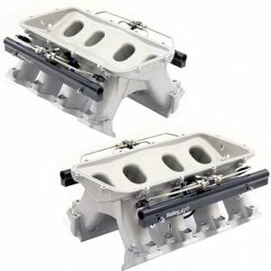 Nitrous Express HOLLEY HI-RAM MANIFOLD FOR CATHEDRAL PORT HEADS W/Snow DIRECT PORT SNO-INTAKE004