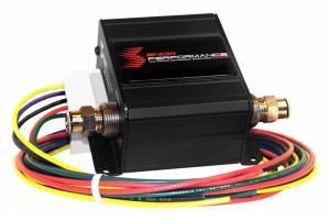 Nitrous Express Safe Injection™ Water-Methanol Flow Sensor Fail Safe 4 AN Fittings SNO-30020-BRD