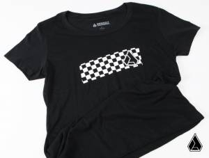**NEW** Assault Industries Lady Racer Checkered Tee