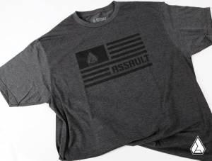 **NEW** Assault Industries Carbon Flag Logo Tee