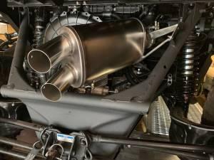 "Aftermarket Assassins - AA Can Am X3 Sidekick 3"" Full Exhaust - Image 5"