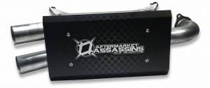 AA Stainless Slip-On Exhaust for 2016-20 RZR XP Turbo **Build to Order**