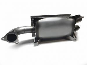 Aftermarket Assassins - AA Stainless Slip-On Exhaust for 2016-20 RZR XP Turbo **Build to Order** - Image 3