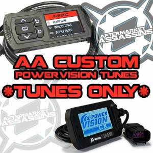 2016 RZR XP Turbo AA Custom Tunes for Powervision with BIG INJECTORS