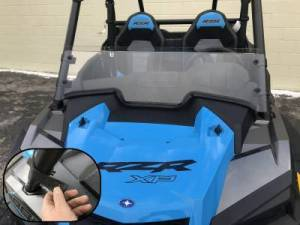 2019-21 RZR Half Windshield/ Wind Deflector for the RZR Turbo and RZR XP1000