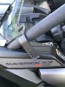 Extreme Metal Products - Can-Am Maverick X3 Half Windshield - Image 3