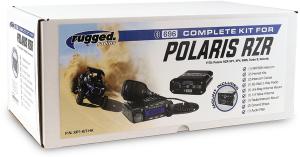 Rugged Radio Polaris RZR1K-XPT Complete Kit