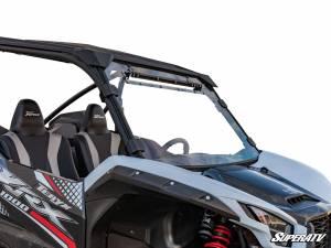 Kawasaki Teryx KRX 1000 Scratch Resistant Vented Full Windshield