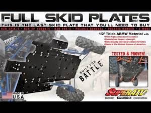 SuperATV  - Kawasaki Teryx KRX 1000 Full Skid Plate - Image 3