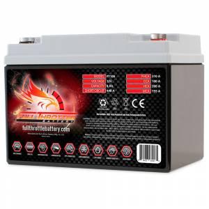 Full Throttle Battery - FT100 High-Performance AGM Battery - Image 2