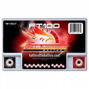 Full Throttle Battery - FT100 High-Performance AGM Battery - Image 3
