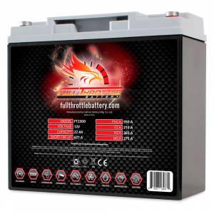 Full Throttle Battery - FT230D High-Performance AGM Battery - Image 1