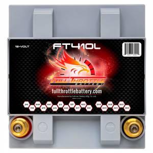 Full Throttle Battery - FT410L High-Performance AGM Battery - Image 3