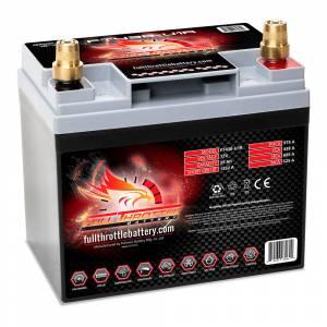 Full Throttle Battery - FT438-U1R High-Performance AGM Battery - Image 2