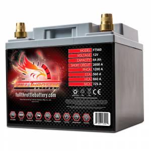 Full Throttle Battery - FT560 High-Performance AGM Battery - Image 2