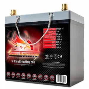 Full Throttle Battery - FT620-51 High-Performance AGM Battery - Image 2