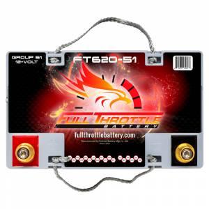 Full Throttle Battery - FT620-51 High-Performance AGM Battery - Image 3