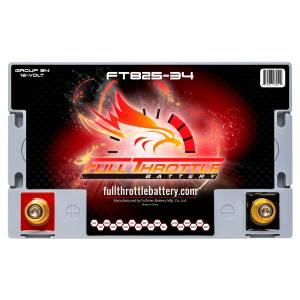 Full Throttle Battery - FT825-34 High-Performance AGM Battery - Image 3