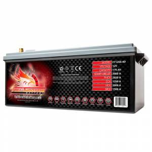 Full Throttle Battery - FT1250-4DLT High-Performance AGM Battery - Image 2
