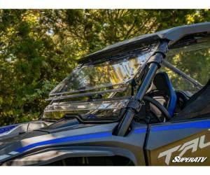 SuperATV  - Honda Talon 1000 Scratch Resistant Flip Windshield - Image 3