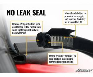 SuperATV  - Honda Talon 1000 Scratch Resistant Flip Windshield - Image 4
