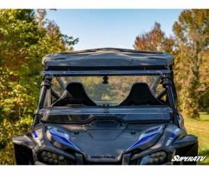 SuperATV  - Honda Talon 1000 Scratch Resistant Flip Windshield - Image 5