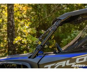 SuperATV  - Honda Talon 1000 Scratch Resistant Flip Windshield - Image 6
