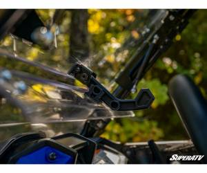 SuperATV  - Honda Talon 1000 Scratch Resistant Flip Windshield - Image 7