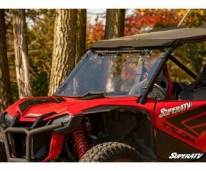SuperATV  - Honda Talon 1000R Scratch Resistant Vented Full Windshield - Image 3