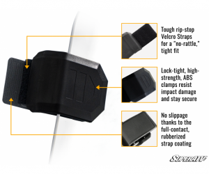 SuperATV  - Honda Talon 1000R Scratch Resistant Vented Full Windshield - Image 10