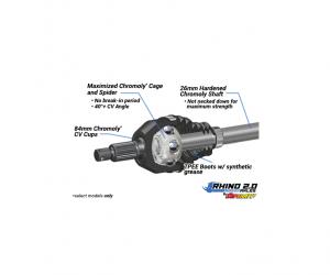 SuperATV  - Honda Talon 1000R Heavy Duty Axles - Rhino 2.0 - Image 6