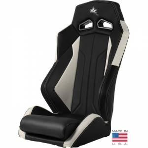 ADS-1 Off-Road UTV Suspension Seat, White/Black, PAIR
